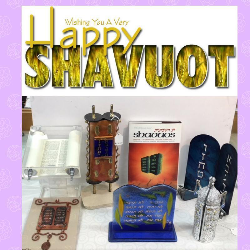 Shavuot falls on Saturday evening May 19- Monday May 21