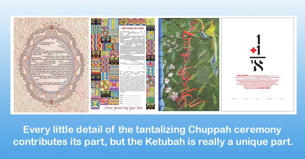 Make Your Ketubah as Unique as Your Wedding!