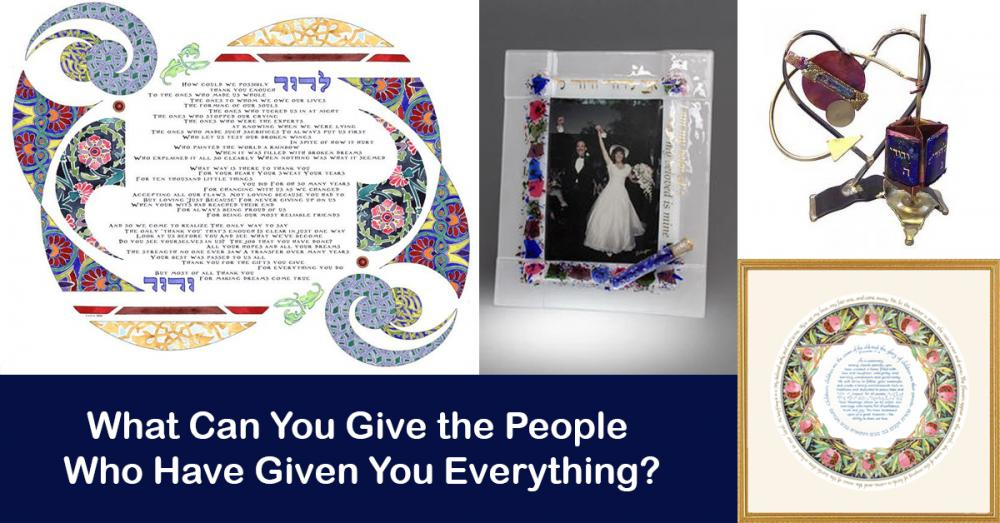 Gifts for Parents - What Can You Give the People Who Have Given You Everything?