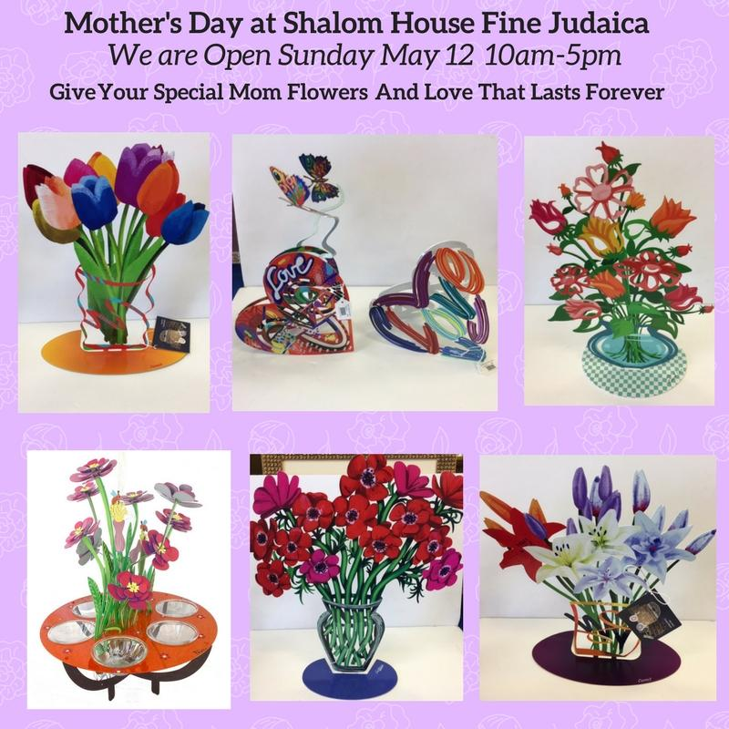 Mother's Day at Shalom House Fine Judaica