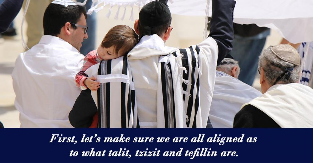 Talit, Tzitzit, Tefillin – The Winding Path from Mitzvah to Maaseh (deeds)