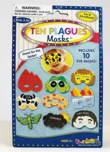 Ten Plagues Masks - Passover Toys
