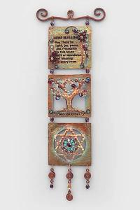 English Home Blessing Tree Star of David