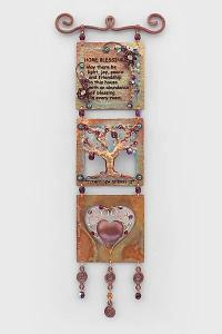 English Home Blessing Tree Heart