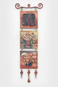 Ten Commandments Menora The Western Wall