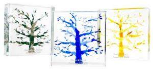 Tree of Life Wedding Cube-Lucite