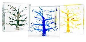 Tree of Life Wedding Cube-Lucite