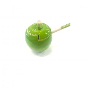 Green Apple Honey Jar