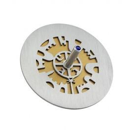 Cut-Out Jerusalem Dreidel - Anodized Aluminum