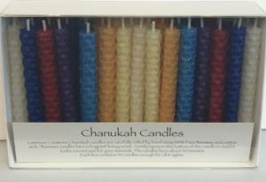 Beeswax Candles -Colors Available: Primary, Pastel, Blue and White and All White