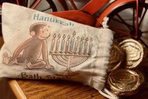 Soapy Hanukkah Gelt Coin Soap With Gift Bag