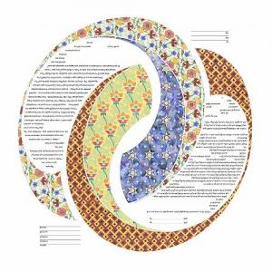 Double Ring Ketubah