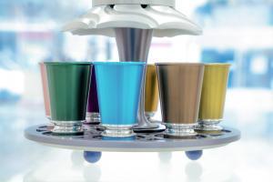 Multicolored Kiddush Wine Fountain