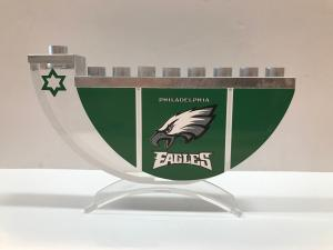 Philadelphia Eagles Menorah