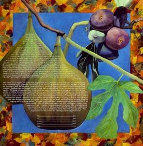 Embrace(Figs) Ketubah