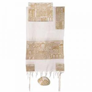 Jerusalem - Embroidered Talit