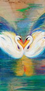 Swans Ketubah