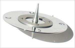 Saturn Dreidel - Steel and Aluminum