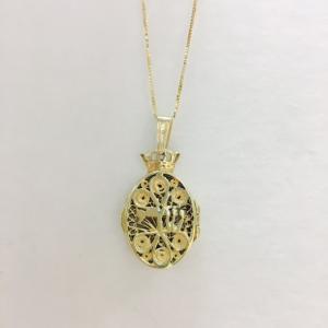 Chai Locket - 14kt Necklace
