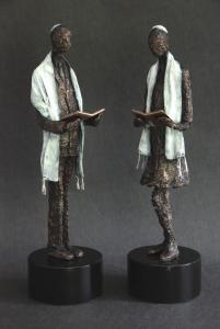 Bar/Bat Mitzvah Sculpture by Karen Coburn - Bronze