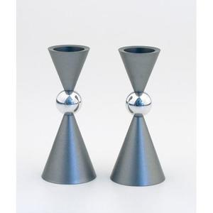 Mini Ball Candle Holders - Aluminum