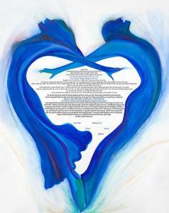 The Rhythm of the Heart Ketubah