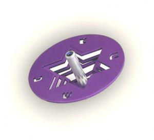 Star Dreidel - Aluminum