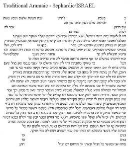 Kabbala Tree of Life Ketubah
