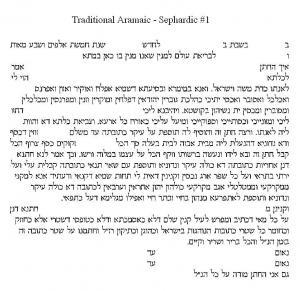 Jerusalem Ketubah
