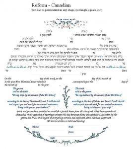 Sparks Of Divine Ketubah
