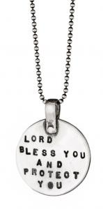 Blessing Necklace by Marla Studio - Sterling Silver