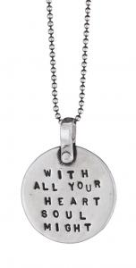 With All Your Heart Necklace by Marla Studio - Sterling Silver