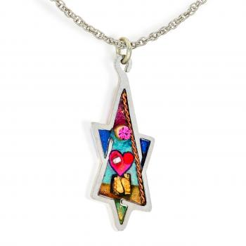 Star of David Necklace - Stainless Steel