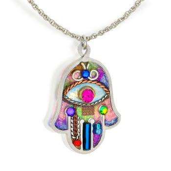 Seeka Hamsa Necklace