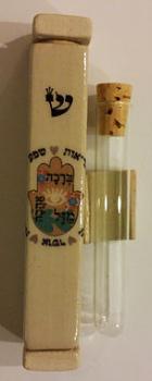Wedding Glass Mezuzah - Ceramic