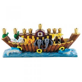 Noah's Ark Menorah
