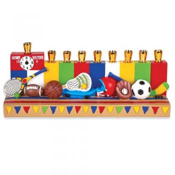 All Sports Hanukkah Menorah