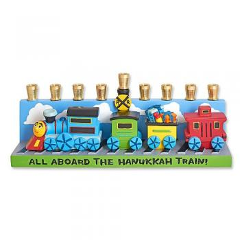 Children's Train Menorah