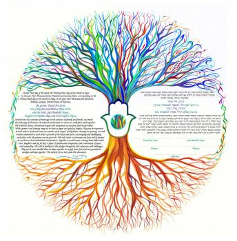 Tree of Life ~ Chamsa