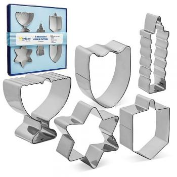 Hanukkah Metal Cookie Cutters