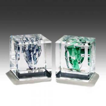 Square Wedding Cube