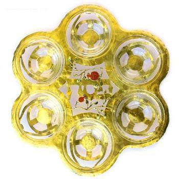 Itzuvim Seder Plate - Brass