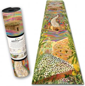 Sukkot Pilgrimage Table Runner
