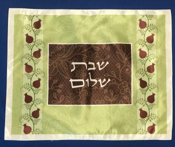 Pomegranate Design Challah Cover