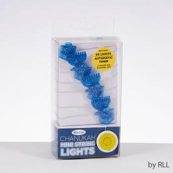 Chanukah Mini String Lights