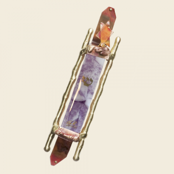 Gary's Glass Mezuzah