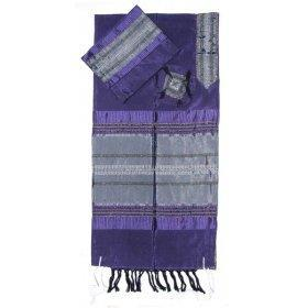 Gabrieli Silk Tallit - Purple