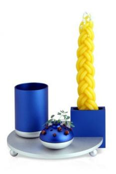 Havdalah Set Blue