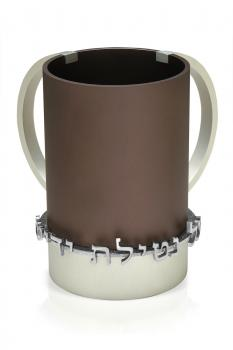 Anodized Aluminum Hand Washing Cup Gray
