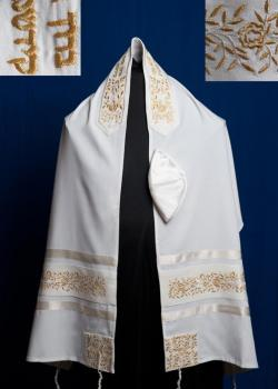 Gold Rose Tallit Set